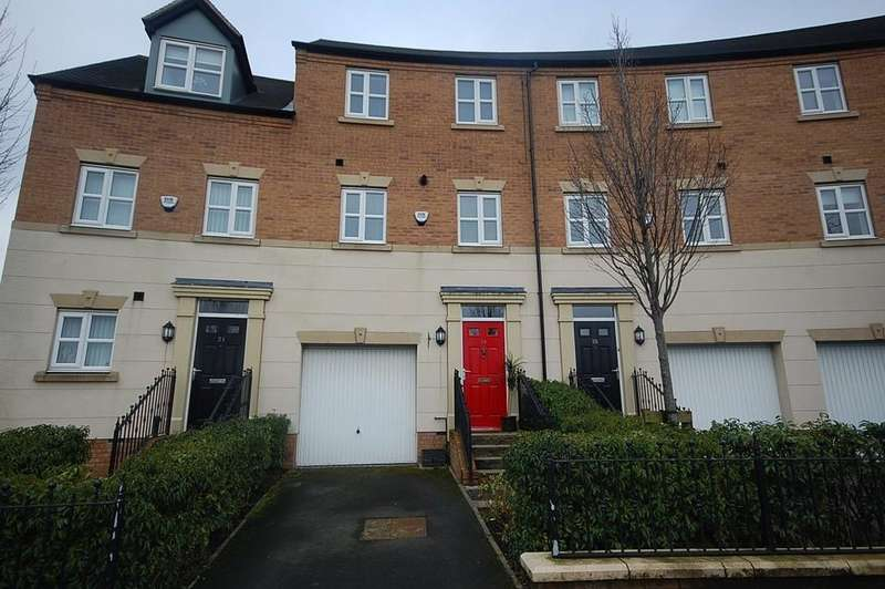 3 Bedrooms Town House for sale in Foxfield Road, Waterside Village, St. Helens