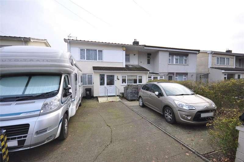 3 Bedrooms Semi Detached House for sale in Beech Avenue, Pinehurst, Swindon, Wiltshire, SN2
