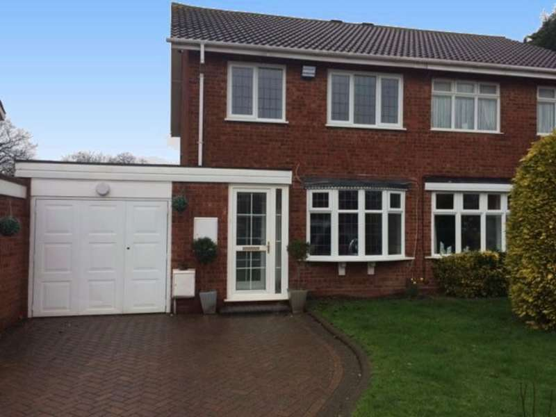 3 Bedrooms Semi Detached House for sale in Wilford Grove, Minworth, Sutton Coldfield. B76 1XX