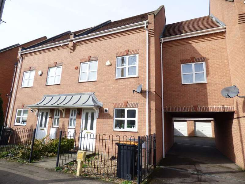 4 Bedrooms Town House for sale in Miller Road, Bedford, MK42 9FS
