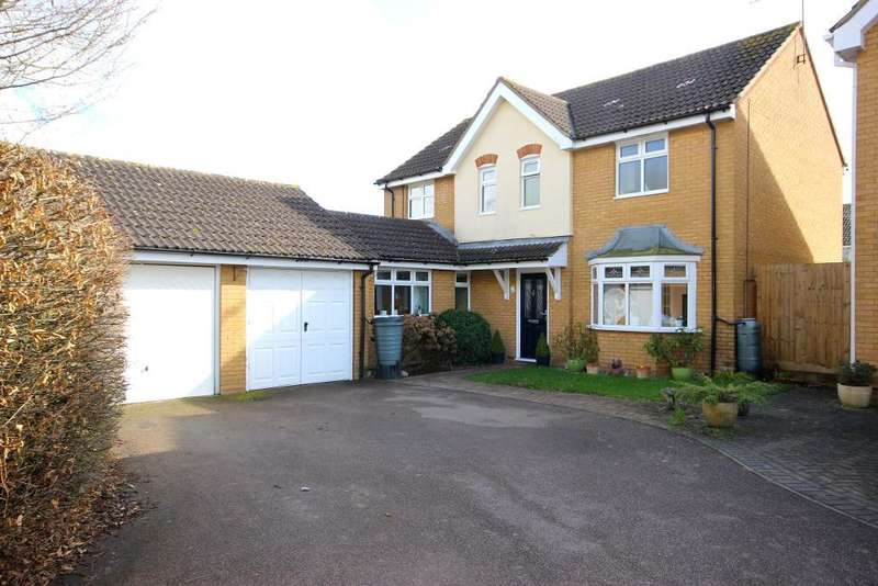4 Bedrooms Detached House for sale in Francis Groves Close, Bedford, MK41 7DH