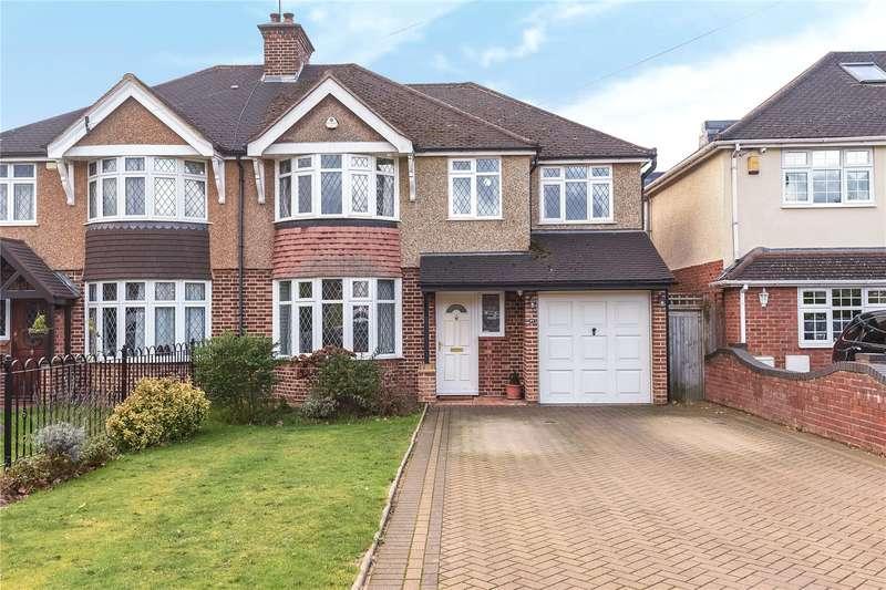 4 Bedrooms Semi Detached House for sale in Swakeleys Drive, Ickenham, Uxbridge, Middlesex, UB10