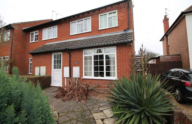 3 Bedrooms End Of Terrace House for sale in Scotland Road, Market Harborough