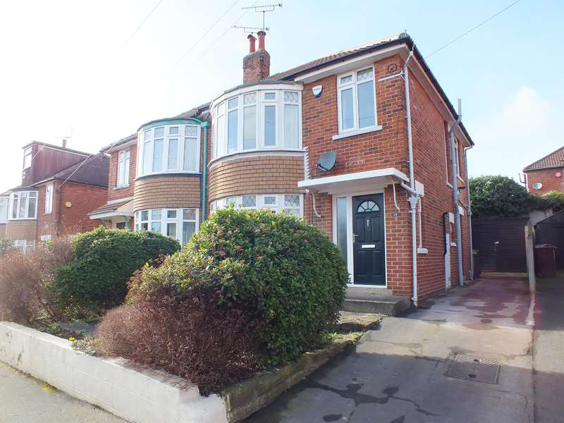 3 Bedrooms Semi Detached House for sale in Bowood Avenue, Meanwood, Leeds, LS7 2PU