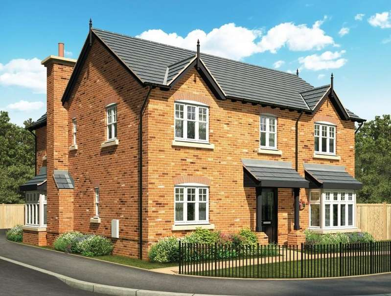 4 Bedrooms Detached House for sale in Manor Green, Holmes Chapel