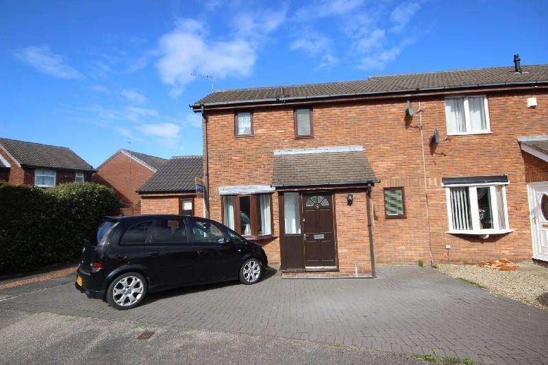2 Bedrooms End Of Terrace House for sale in Carlton Close Ouston, Chester Le Street
