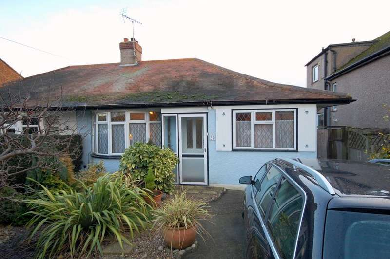 2 Bedrooms Semi Detached Bungalow for sale in Glenbervie Drive, Beltinge, Herne Bay