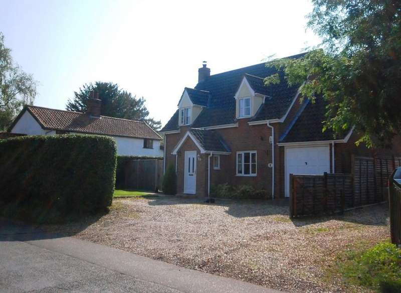 3 Bedrooms Detached House for sale in Flaxlands Road, Carleton Rode