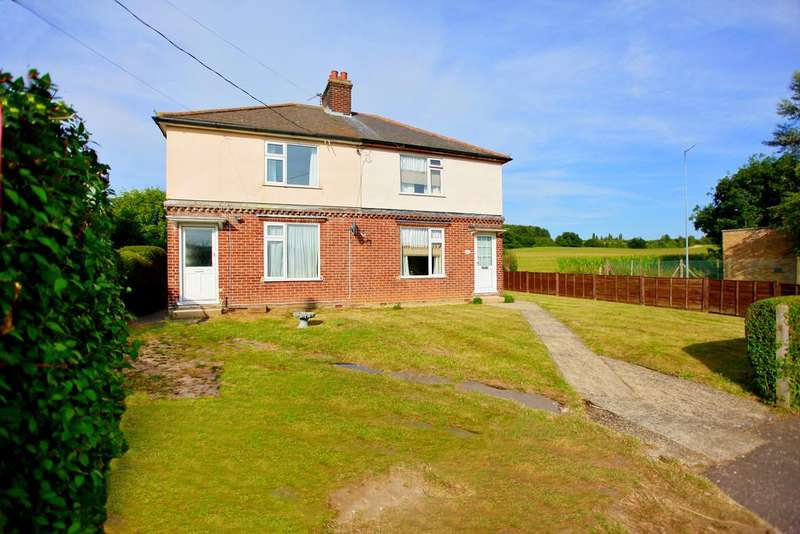 2 Bedrooms Semi Detached House for sale in Nayland Road, Bures, Suffolk