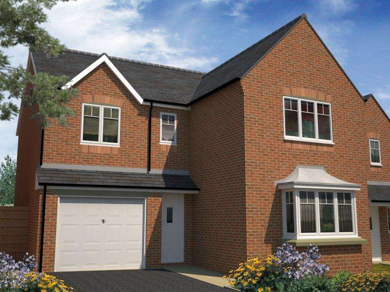 4 Bedrooms Detached House for sale in PLOT 10 - THE TATE, MOORE PARK, HEALDFIELD COURT, CASTLEFORD, WF10 4TU