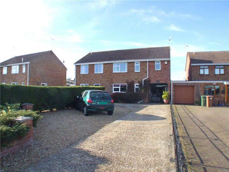 4 Bedrooms Semi Detached House for sale in Clare Road, Northborough, Peterborough, Cambridgeshire, PE6