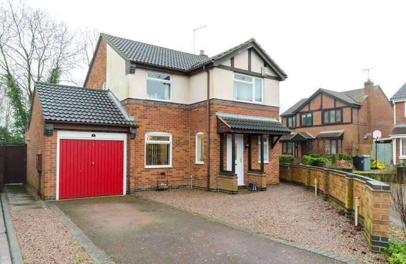 4 Bedrooms Detached House for sale in Violet Close, Morton, Bourne, PE10