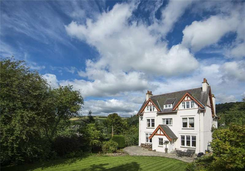 6 Bedrooms Detached House for sale in Wedale House, Church Wynd, Stow, Galashiels, Scottish Borders
