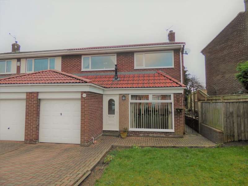 3 Bedrooms Semi Detached House for sale in Rowan Drive, Hetton-Le-Hole, Houghton-Le-Spring