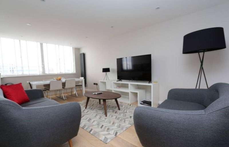 2 Bedrooms Apartment Flat for sale in Quadrangle Tower, Cambridge Square, London, W2