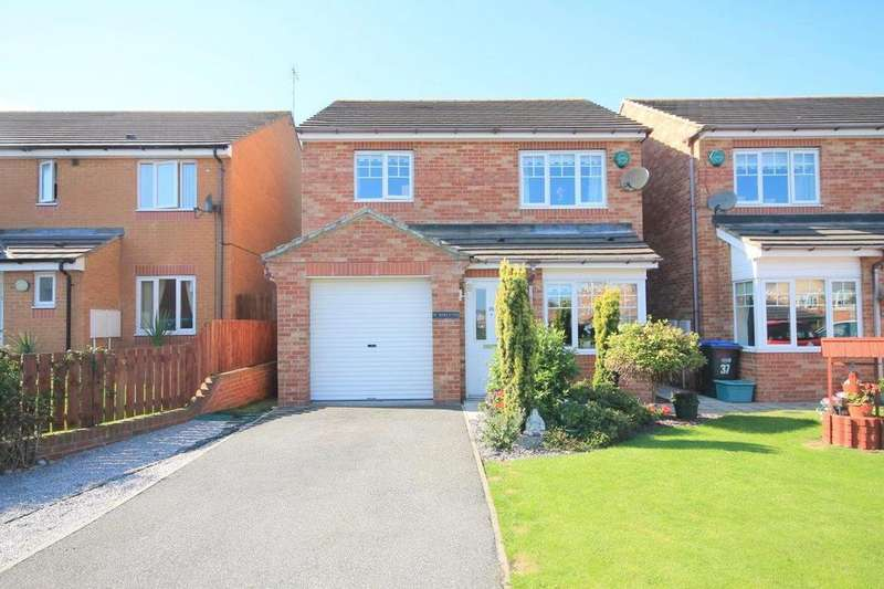 3 Bedrooms Detached House for sale in Dovecote Drive Glenside View, Chester Le Street