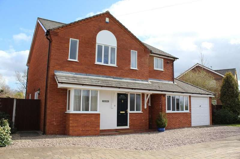 4 Bedrooms Detached House for sale in Horsemans Green, Whitchurch