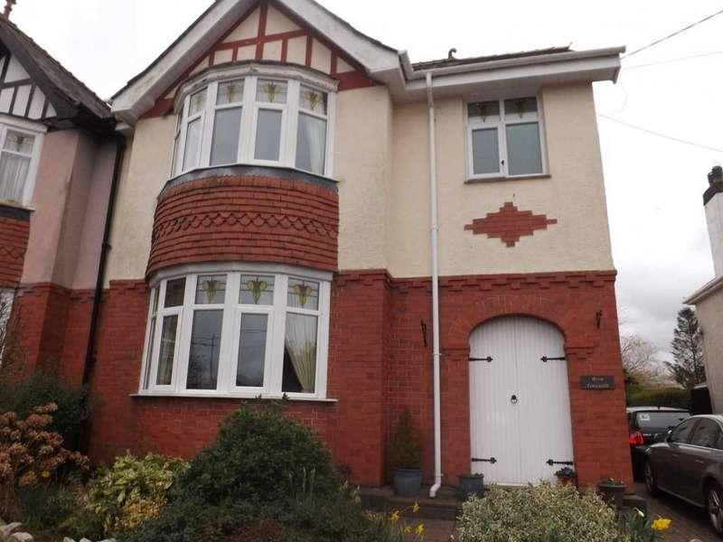 3 Bedrooms Semi Detached House for sale in Penrallt, Llangefni