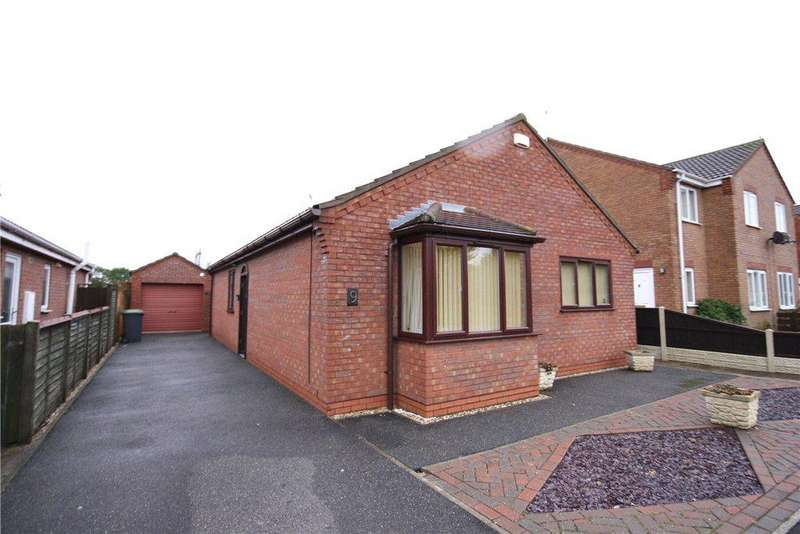 3 Bedrooms Detached Bungalow for sale in Park Lea, Ruskington, Sleaford, Lincolnshire, NG34