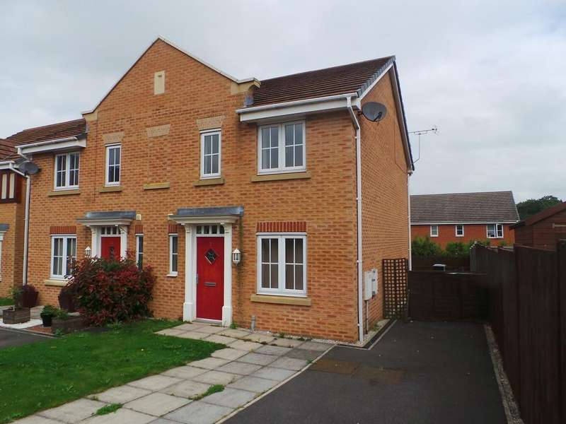 3 Bedrooms Semi Detached House for sale in Hoylake Close, Gainsborough