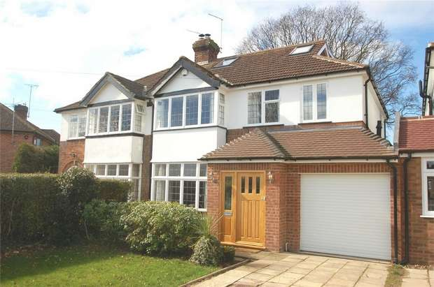 5 Bedrooms Semi Detached House for sale in Stanley Avenue, St Albans, Hertfordshire