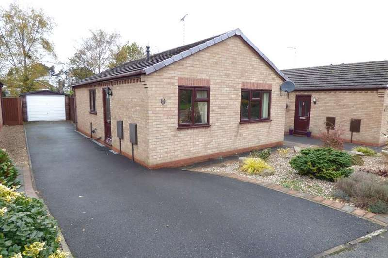 2 Bedrooms Detached Bungalow for sale in Portway Drive, Tutbury