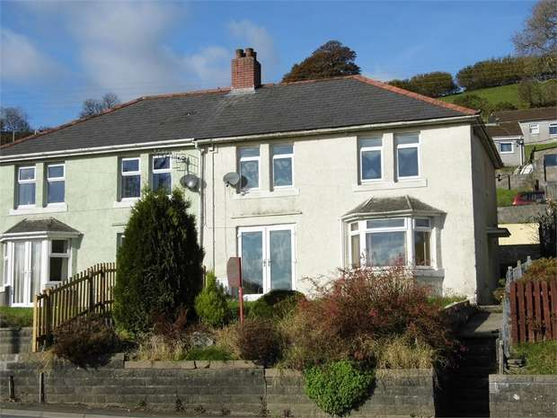 3 Bedrooms Semi Detached House for sale in Heol Pant Yr Awel, Pantyrawel, Bridgend, Mid Glamorgan