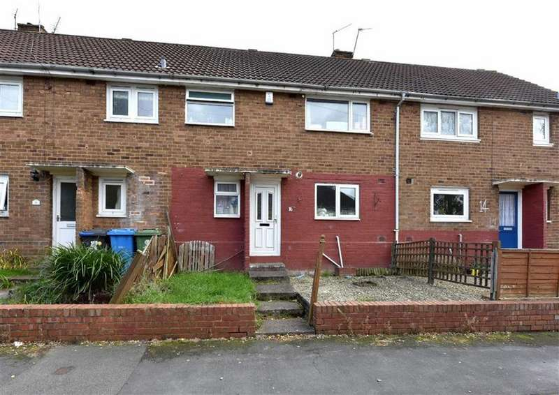 3 Bedrooms Terraced House for sale in 16, Lamb Crescent, Wombourne, Wolverhampton, South Staffordshire, WV5