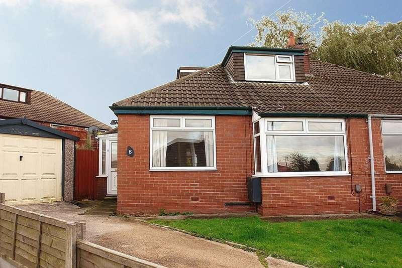 3 Bedrooms Semi Detached Bungalow for sale in 8 Regent Crescent, Royton