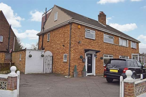 4 Bedrooms Semi Detached House for sale in Christchurch Avenue, Rainham, Essex
