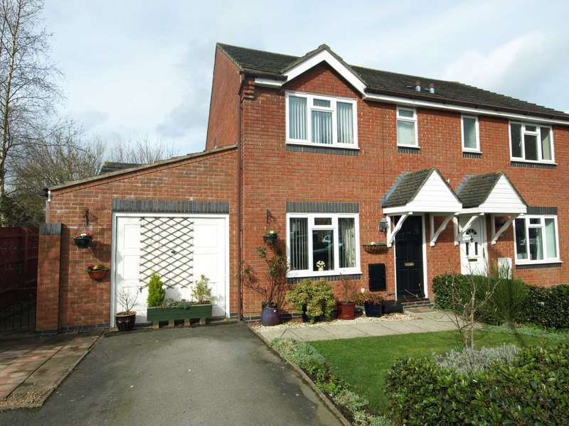 3 Bedrooms Semi Detached House for sale in Lancaster Close