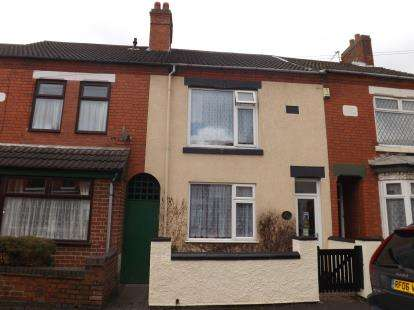 2 Bedrooms Terraced House for sale in Crescent Road, Hugglescote, Coalville