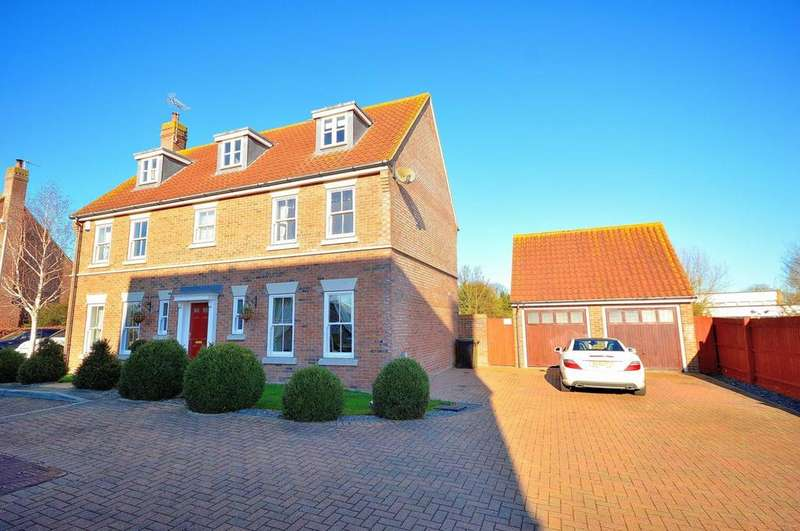 5 Bedrooms Detached House for sale in Vicarage Court, Southminster, Essex, CM0