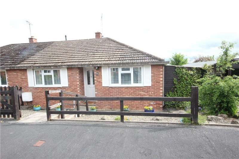 2 Bedrooms Semi Detached Bungalow for sale in Kennet Bank, Ludlow, Shropshire, SY8