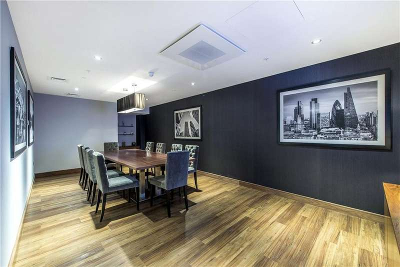 2 Bedrooms Apartment Flat for sale in Pinto Tower, 4 Hebden Place, Vauxhall, London, SW8