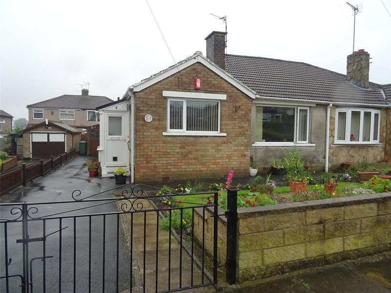 2 Bedrooms Semi Detached Bungalow for sale in Groveway, Bradford, West Yorkshire, BD2