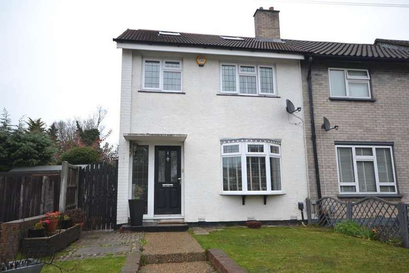 3 Bedrooms End Of Terrace House for sale in Roseberry Gardens, Upminster, Essex, RM14