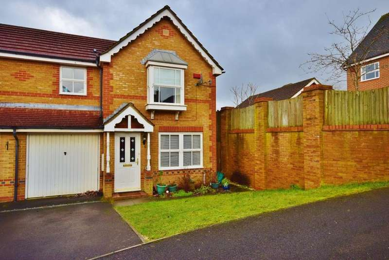 3 Bedrooms Semi Detached House for sale in Kempshott, Basingstoke, RG22