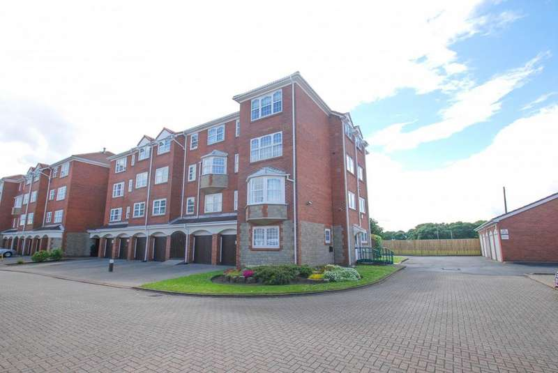 2 Bedrooms Flat for sale in Rockcliffe, South Shields