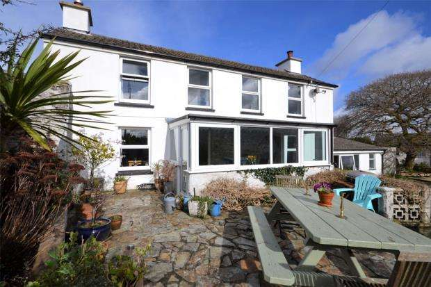 4 Bedrooms Detached House for sale in Drakewalls, Gunnislake