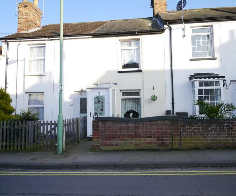 2 Bedrooms Terraced House for sale in Commodore Road, Oulton Broad, Lowestoft