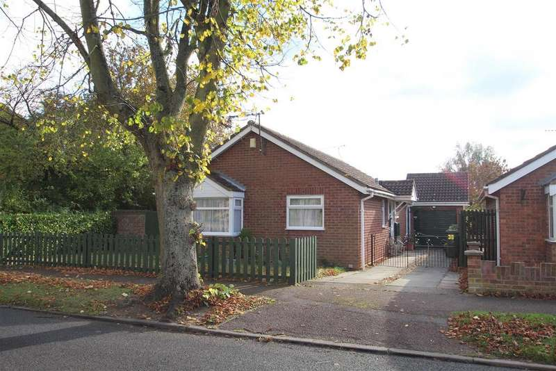 2 Bedrooms Detached Bungalow for sale in Abbey Way, Bradville, Milton Keynes
