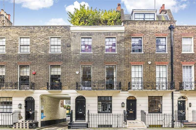 2 Bedrooms Terraced House for sale in Portsea Place, London, W2