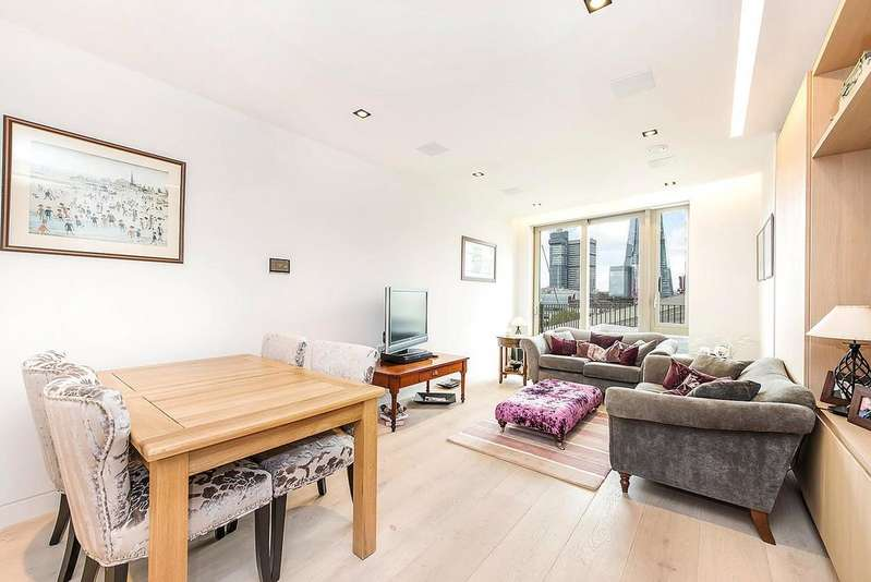 2 Bedrooms Apartment Flat for sale in Chatsworth House, Duchess Walk, London, SE1