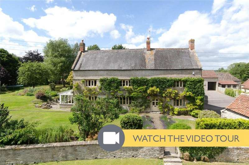 7 Bedrooms Detached House for sale in High Street, West Lydford, Somerton, Somerset