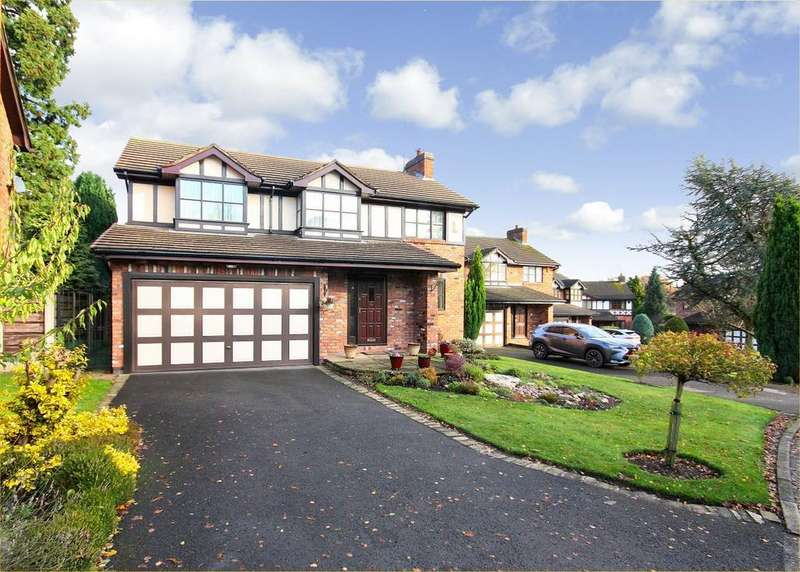 4 Bedrooms Detached House for sale in Westminster Drive, Wilmslow