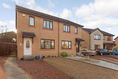 3 Bedrooms Semi Detached House for sale in The Moorings, Paisley