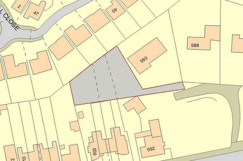 Land Commercial for sale in Land rear of 594-600 Chester Road, Cuddington, Northwich