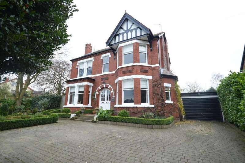 5 Bedrooms Detached House for sale in Parkfoot, Whitefield Road, Stockton Heath, Warrington