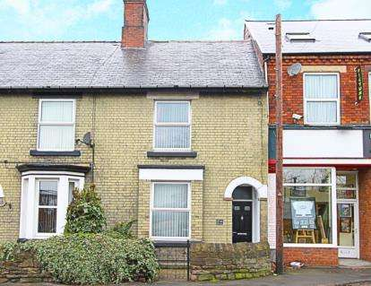 2 Bedrooms Terraced House for sale in Duke Street, Staveley, Chesterfield, Derbyshire